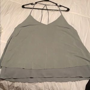 Slate colored tank top